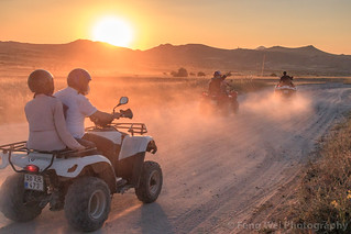 Sunset ATV, Göreme, Nevşehir Province, Cappadocia Region, Central Anatolia, Turkey