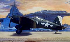 Chance-Vought F4U-1D Corsair (Sentinel28a1) Tags: chancevought f4u f4u1d corsair vbf88 ussyorktown yorktown usnavy worldwarii fighter