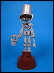 Bukkitt (Karf Oohlu) Tags: lego moc figure character bucket bot skinny bones skeleton