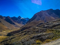 Dramatic peaks and sweeping valleys outside Huaraz.