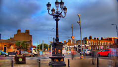 """ The Tale of Five Lamps, Dublin "" ("" P@tH Im@ges "") Tags: streets the5lamps dublinireland northstrand liutenenthenryhall waterfountain tonygregorymp india psp x8 ultimate exp merge x 3 picasa3 pspexpmergex3 hdr indianmutiny 5battles alcohol junctionof5streets"