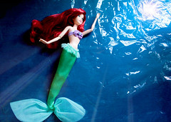 What would I give... ? (Litherenne) Tags: mermaid disney dolls disneystore littlemermaid redhaired fins tail scale sea water ocean fairytale ariel princess andersen blue eric ursula kingtriton