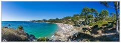 """""""Esas playas gallegas"""" (Gerkraus) Tags: beach aldan areacova galicia panoramica spain landscape sea blue azul"""