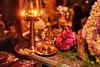 Golden glow (sr_ravi) Tags: poojaroom oillamps kuthuvilakku kamakshivilakku prayer nikond610 nikkor50mmf18d stilllife