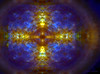 light cross (CaBAsk! on and off. Thank U for the visit ♥) Tags: abstract art manipulation expression olympus photoshop digital cross circle spirit universe imagintaion bubbles power center norway sky space