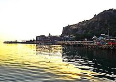 Ancient Harbour, Assos, Canakkale, Turkey. (Antik Liman, Assos, Çanakkale, Türkiye) (atajas) Tags: deniz sea koy coast beach liman antik harbour ancient behramkale assos