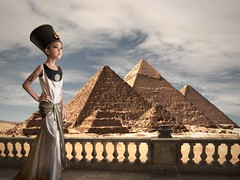 Gizah_Pyramids_Celine_small (Yana Lam) Tags: nefertiti queen egypt ancient halloween cleopatra