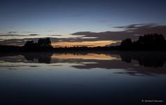 Serenity (Norbert Clausen) Tags: sunset sonnenuntergang thebluehour bluehour blue hour blaue stunde night nacht landscape landschaft lake see langzeitbelichtung longexposure