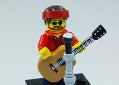Brick Yourself Custom Lego Figure Folk Singer
