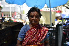 Bangalore Street Market (surobinda) Tags: karnataka bazar gandhi 2470 street day photography world bangalore bengaluru nikon