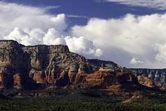 Backyard Photography (paynepat44) Tags: sedona arizona redrock redrockcountry red landscape colorful cliffs clouds magnificent