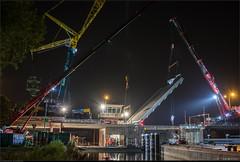 Terugplaatsen Leeghwaterbrug Alkmaar