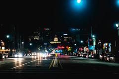 State Street at Midnight (joshhansenmillenium) Tags: nikon photography d5500 sigma 2470mm bokeh salt lake city utah urban gateway crucial fest