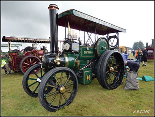 1914 Aveling & Porter Convertible Tractor Works No. 8394 'Duke of  Norfolk'