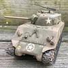 01-M4A3 U.S. Army Sherman (Tamiya 1/35 #122) - Front (skaasz) Tags: ww2 sherman tank m4a3 7ad eto tamiya 135 plastic model
