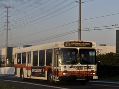 Mississauga Transit 0525 (YT | transport photography) Tags: mississauga transit miway new flyer d40lf bus
