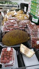 "New Fruits for Rosh Hashana (Batya7, ""JustHavingFun"") Tags: fruit lychees jackfruit figs roshhashanah supermarket exotic jewish holiday blessing new"