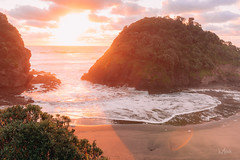 Sunset at O'neills Bay. (Mikey Mack) Tags: muriwai auckland newzealand nz