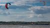 Kitesurfing at Southern Buh River, Mykolaiv, Ukraine 2017-06-14. (Serhiy Borysov) Tags: kite canoneosm canon clouds sky summer beach ukraine kitesurfing mykolaiv river