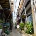alley too long (kasa51) Tags: alley narrowstreet house pole wire yokohama japan