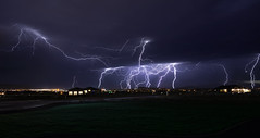 Raw Energy II (PNW-Photography) Tags: lightning thunder storm intense washington landscape nightscape pasco kennewick richland