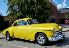 1949 Oldsmobile Business Coupe (J Wells S) Tags: 1949oldsmobilebusinesscoupe olds streetrod hotrod villagegreencarshow fairfield ohio cincinnati