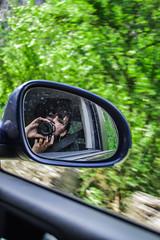 DSC_6246 (Esther Andreu) Tags: selfportrait travel car nature