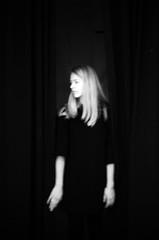 (07-31) Tags: fomapan film negative monochrome blackwhite girl impressionism