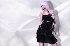 (IMAGE) -AZUL- Wynne_Full (mami_jewell) Tags: azul sl secondlife virtual avatar fashion game new release casual fantasy fitmesh fitted mesh rigged ruffle flower wynne