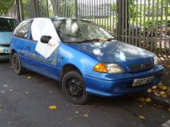 2001 Suzuki Swift GLS (Neil's classics) Tags: vehicle 2001 suzuki swift gls