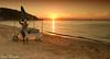 the day is over! (paolotrapella) Tags: sunset tramonto beach mare sea spiaggia equipped attrezzata italia tamron 18 200 vc canon eos 600d paolotrapella