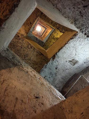 Napoli sotterranea stairwell