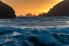 Last light on the Pacific (Dan M. Thompson) Tags: water pacific ocean waters waves light sunset color pacificocean westside westcoast california bigsur summer feels vibes nature oceans oceanic tide beach nikon d800e longexposure shutter camera digital photographer photography highway1 the1 travel sandy fineart landscape landscapephotography cali big sur