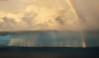 Storm. (Carlos Arriero) Tags: fuencaliente lapalmatenerife españa canarias storm tormenta mar sea agua water spain europe europa nature naturaleza nikon d800e tamron 2470f28 carlosarriero nubes clouds color colour colors sky arcoiris rainbow lluvia rain