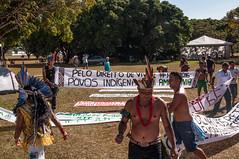 _DSC9404 (Radis Comunicação e Saúde) Tags: 13ª edição do acampamento terra livre atl movimento dos povos indígenas nenhum direito menos revista radis 166 comunicação e saúde