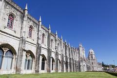 Jeronimos Monastery (joscelyn_p) Tags: lisboa lisbon portugal monastery architecture exterior buildings canon lightroom