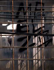 panes (dotintime) Tags: window glass pane frame industrial manufacturing light dark character letter square rectangle dotintime meganlane