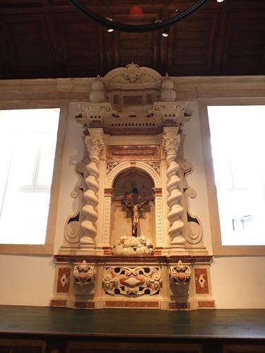 Iglesia da Misericórdia - Retablo en la sacristía