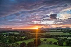 Sunset over the lleyn peninsula (gopper) Tags: cymru wales sunset pwllheli gwynedd amazing ngc nikon d7100 landscape welsh godscountry lleyn lleynpeninsula postcard hill coast cloud clouds golden