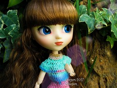 TAG GAME: Blue Eyes (Linayum) Tags: pullip pullipdita junplanning pullips doll dolls muñeca muñecas eyes linayum crochet handmade ganchillo vanilla