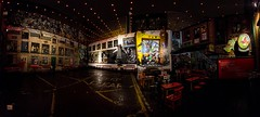 murals in the pub (Ntino Photography) Tags: belfast murals northernireland summer nightphotography canoneos5dmarkiii city citylights nightinthecity europe darkness lights panorama