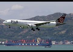 Airbus | A330-343 | Fiji Airways | COP23 Bonn2017 Scheme | DQ-FJW | Hong Kong | HKG | VHHH (Christian Junker | Photography) Tags: nikon nikkor d800 d800e dslr 70200mm aero plane aircraft airbus a330343 a330300 a333 a330 fijiairways fiji fj fji fj391 fji391 fiji391 dqfjw islandofrotuma heavy widebody cop23bonn2017scheme specialscheme speciallivery specialcolour arrival landing 25r airline airport aviation planespotting 1692 hongkonginternationalairport cheklapkok vhhh hkg clk hkia hongkong sar china asia lantau terminal2 t2 skydeck christianjunker flickraward flickrtravelaward zensational hongkongphotos worldtrekker superflickers