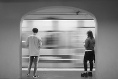 (Claudio Blanc) Tags: street streetphotography fotografíacallejera bw bn blackandwhite blancoynegro buenosaires argentina subway subte metro underground urban urbana fotografiaurbana