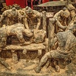 Model of workers creating figures for the tomb of Emperor Qin Shi Huang of China 3rd century BCE (5) thumbnail