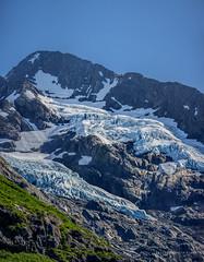 Bryan glacier (Traylor Photography) Tags: ancient daytime hike portage alaska prehistoric greass anchorage sky bryanglacier glacier summer iceberg mountain unitedstates us
