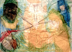 Saint James' Summer (giveawayboy) Tags: pencil crayon drawing sketch art acrylic paint painting fch tampa artist giveawayboy billrogers saintjamessummer summer seasons