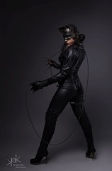 Steampunk Gotham Sirens: Ailiroy as Cat Woman: Studio portrait (SpirosK photography) Tags: steampunk steampunkgothamsirens gothamsirens studio photoshoot victorian portrait strobist nikon d750 athens greece spiroskphotography spiroskphotographystudio cosplay costumeplay ailiroy catwoman