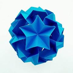 с днем рождения Владимир (Meeyho) Tags: kusudama rukusudama folding origami origamipaper starlight happybirthday dedicate