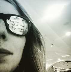 Every face tells a story (doubleshotblog) Tags: doubleshotblog doubleshot storytelling glassesselfie selfie australia northsydney background foreground sunglasses reflection face story