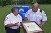 Germanna earns Crime Prevention Campus recognition (Germanna CC) Tags: 2017 august25 fridayafternoon gcc germannacommunitycollegecouncil lgc locustgrovecampus locustgrove va usa crimeprevention craigbranch karenhouchens police